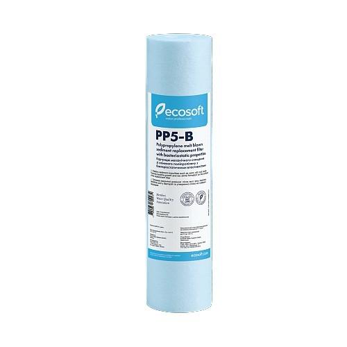 """Картридж бактериостатический из вспененного полипропилена Ecosoft 2,5""""х10"""" 5 мкм CPV25105BECO"""