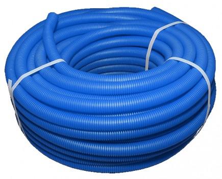 Защитный кожух для труб синий - 28 (50м)
