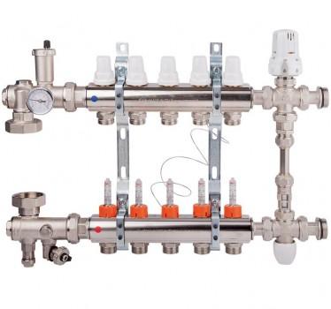 Коллекторный узел в сборе Icma (K0111) на 4 выхода