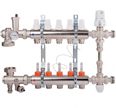 Коллекторный узел в сборе Icma (K0111) на 6 выходов