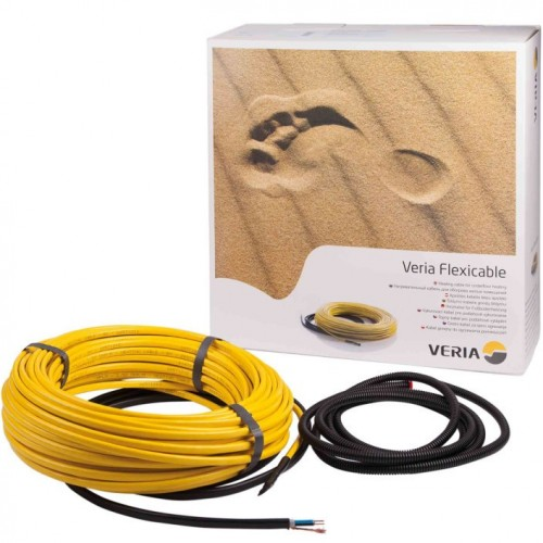 189B2008 Двухжильный нагревательный кабель Veria Flexicable 20-970Вт х 50м