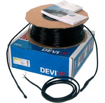98300838 Саморегулирующийся нагревательный кабель для систем снеготаяния DEVIceguard 18RM 144Вт x 8 м