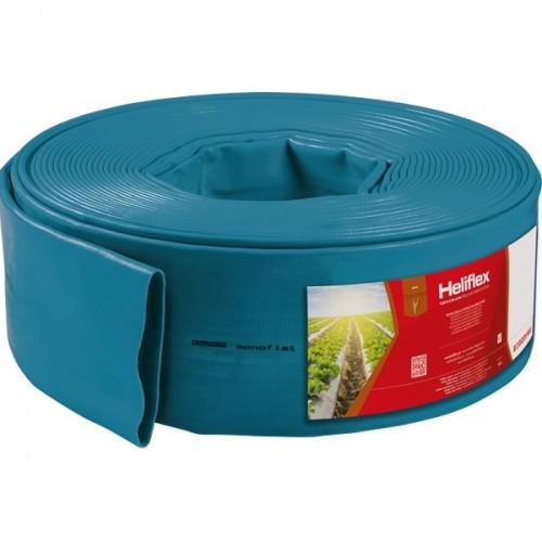"""Гибкий шланг Layflat Heliflex Monoflat 6""""(150mm) - 3.5 Атм х 100 м"""