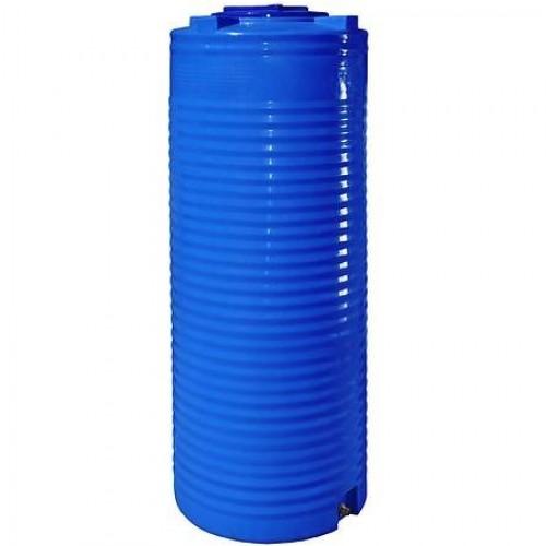 Емкость вертикальная двухслойная узкая SM 1000л (80x225)