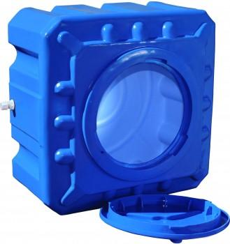 Емкость квадратная двухслойная (куб) Командор2000 100л (64x64x40)