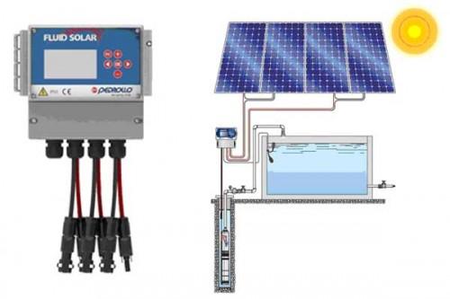 Насос на солнечной энергии Pedrollo FLUID SOLAR