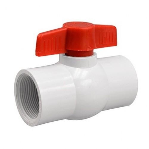 Кран шаровый пластик с внутренней резьбой - 1