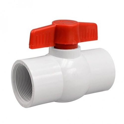 Кран шаровый пластик с внутренней резьбой - 2