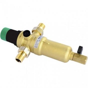 Фильтр самопромывной с редуктором для горячей воды Honeywell FK06-1 1/4 ААM