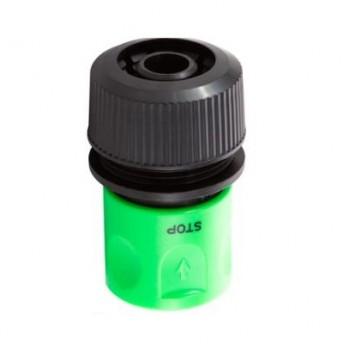 """Коннектор с аквастопом для шланга диаметром - 1/2"""""""