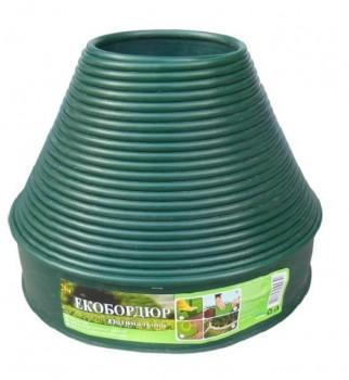 Садовый бордюр Gartec (зеленый) - 20м