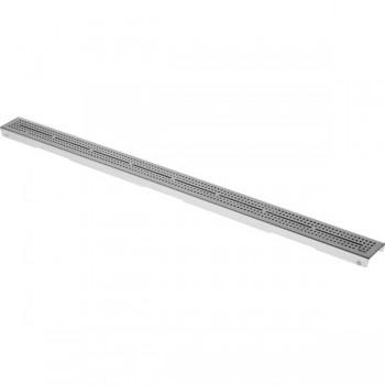 """Сатинированная решетка для трапа TECEdrainline """"quadratum"""" 1500 мм 601551"""