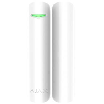 Беспроводной датчик открытия с сенсором удара и наклона AJAX DoorProtect Plus (White)