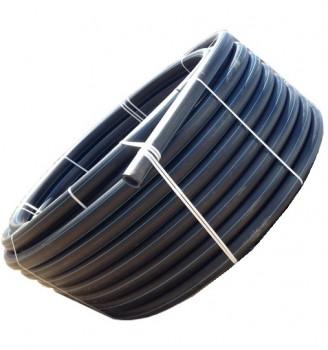 Труба полиэтиленовая Планета Пластик ПЕ100 SDR17 Ø90 x 5.4 PN10 (50м)