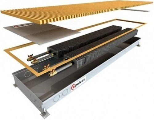 Внутрипольный конвектор с вентилятором Polvax KV PLUS 300.1250.120