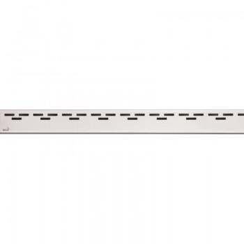 Решетка для водоотводящего желоба AlcaPLAST HOPE-300L (Нержавеющая сталь-глянец)
