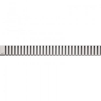 Решетка для водоотводящего желоба AlcaPLAST LINE-300L (Нержавеющая сталь-глянец)