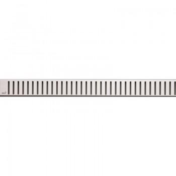 Решетка для водоотводящего желоба AlcaPLAST PURE-300L (Нержавеющая сталь-глянец)