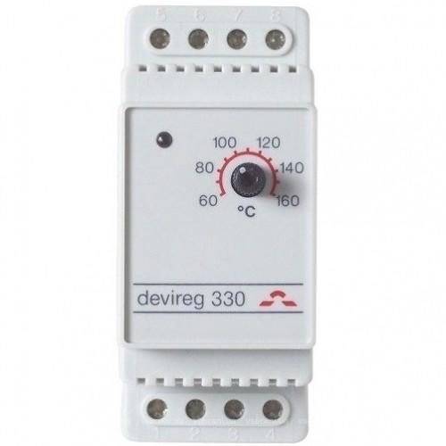 140F1072 Терморегулятор DEVIreg 330 (+5...+45°С)