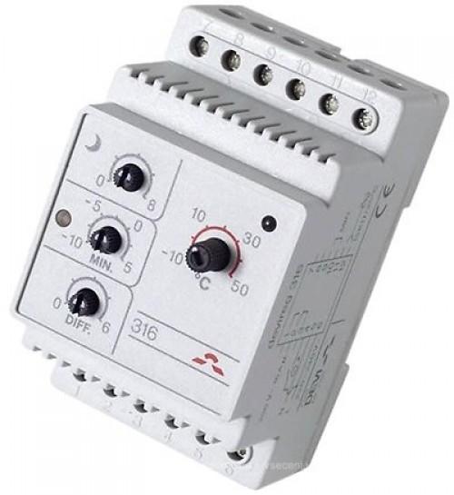 140F1075 Терморегулятор DEVIreg 316 (-10...+50°С)