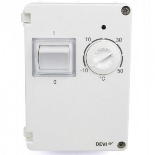 140F1080 Терморегулятор DEVIreg 610 (-10...+50°С) IP44