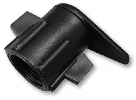 Старт-Коннектор для плоского шланга внутренняя резьба 1/2 диаметр 3/8 (SM11-34L)