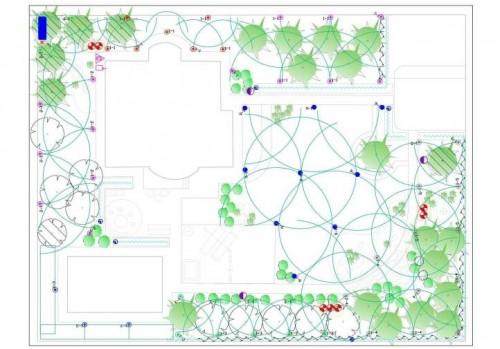Проектирование систем автоматического полива - 4 грн/м²