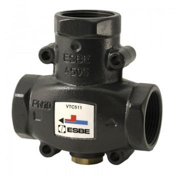 """VTC511 Трехходовой термический клапан Esbe 1 1/4"""" x 60°С"""
