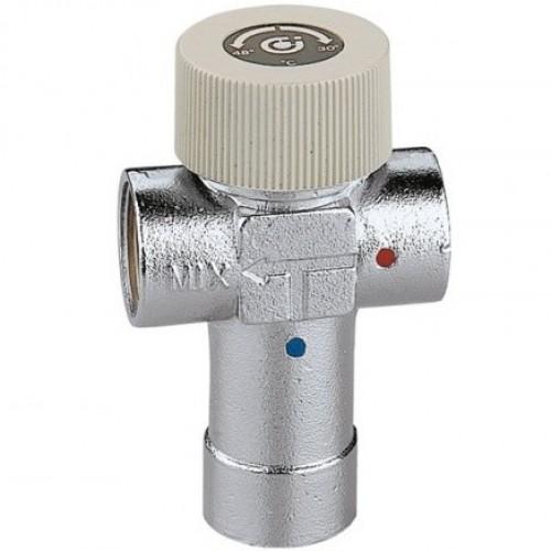 """520430 Смеситель термостат Caleffi 1/2"""" x 30-48°С"""