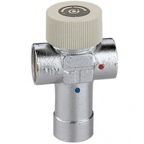 """520530 Смеситель термостат Caleffi 3/4"""" x 30-48°С"""