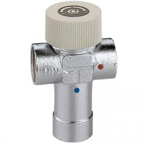 """520540 Смеситель термостат Caleffi 3/4"""" x 40-60°С"""