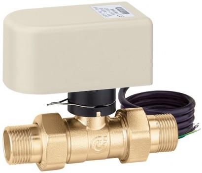 """642062 Зонный клапан двухходовой с приводом Caleffi - 1"""" х 220V"""