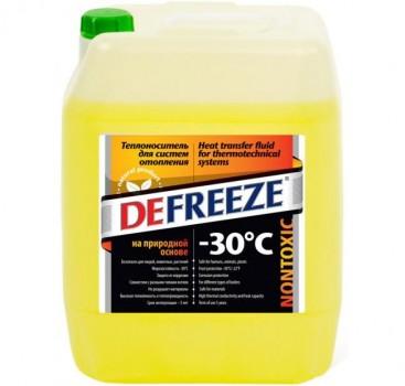 Незамерзающая жидкость для систем отопление Defreeze - 30°С/1л