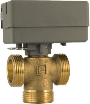 """Зонный клапан трехходовой с приводом LK 525 MultiZone 3V - 1"""""""