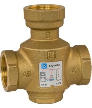 """Трехходовой термический клапан LK 823 ThermoVar 1 1/4"""" x 55°С"""