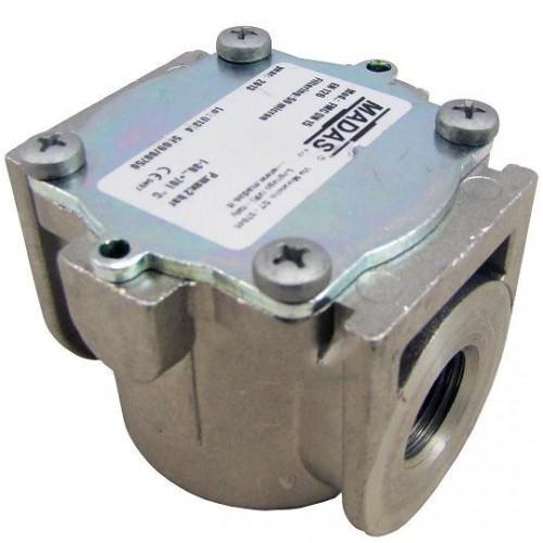 """51062 Фильтр газовый Madas FMC - 1/2"""" x 2 бара"""