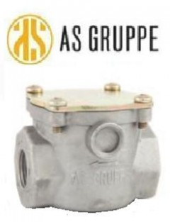 """Фильтр газовый AS Gruppe - 1/2"""" x 2 бара"""