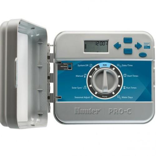Наружный пульт управления 4-мя зонами с вожможностью расширения Hunter PC-401E