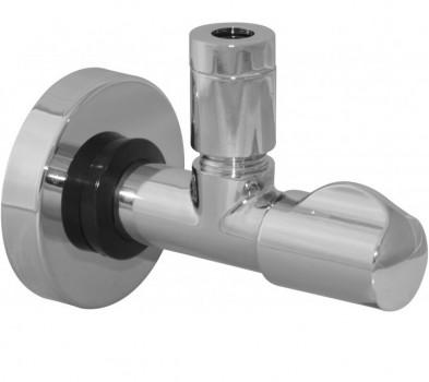 """L143481 Кран вентильный угловой c фильтром Albertoni - 1/2"""" x M10"""