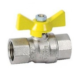 """7952 Кран шаровый газовый Bonomi GAS - 1/2"""" ВВ"""