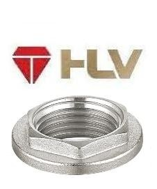 """110655 Контргайка никель HLV - 1/2"""""""