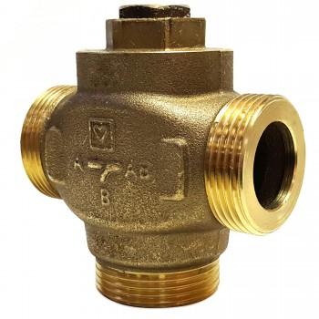 Трехходовой термический клапан Herz Teplomix DN25 x 55°С