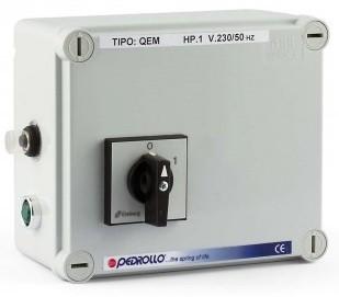 Пульт управления насосом Pedrollo QEM 100 (0.75кВт)