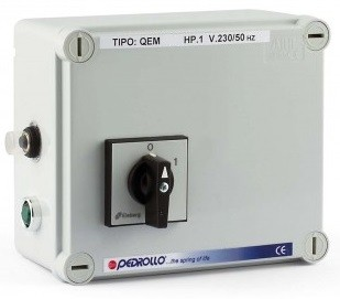 Пульт управления насосом Pedrollo QEM 200 (1.5кВт)