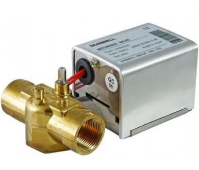 """Зонный клапан трехходовой с приводом SasWell - 1"""" x 230V"""