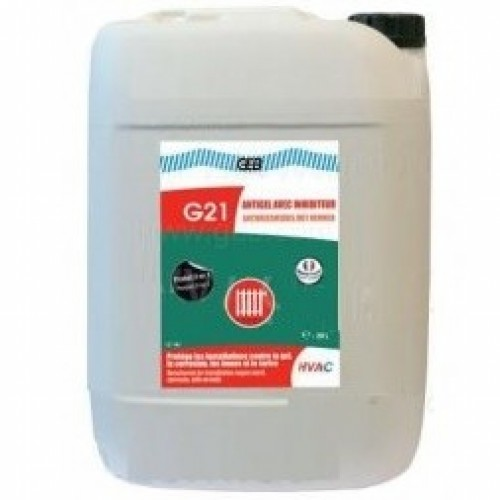 870114 G21 Антифриз + защитное средство Avec Inhibiteur - 20л