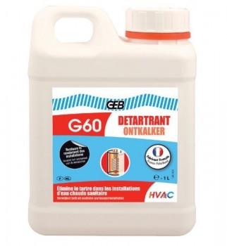 870120 G60 Жидкость для удаления накипи Detartrant - 1л