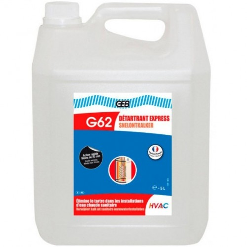 870124 G62 Жидкость для быстрого удаления накипи Detartrant Express - 5л