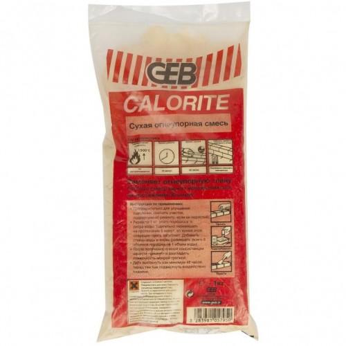 105793 Огнеупорная смесь для кирпичной кладки Calorite - 1кг