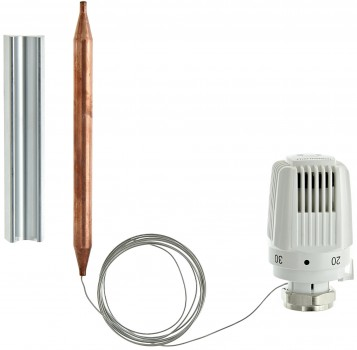 1942198 Термоголовка с накладным датчиком Herz 40-70°C